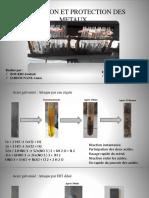 Corrosion Et Protection Des Metaux