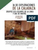 Exploraciones en la sima de la Calabaza (Sierra de las Nieves)