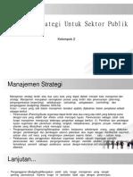 Makalah Manajemen Strategi Sektor Publik