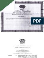 Akreditasi S1 Manajemen Uniflor