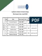 1138450_Planning Evaluations  RATTRAPAGE SEMESTRE 3 Economie & Gestion Automne 19-20