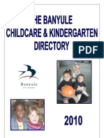 Banyule Childcare and Kindergarten Directory 2010[3]