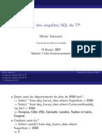 Corrige SQL