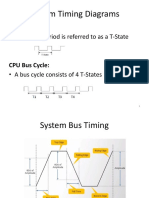 system bus timing