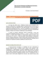 O Modelo de Auto- Avaliação. Problemáticas e conceitos implicados.