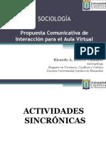 Propuesta Comunicativa de Interacción para el Aula Virtual - Sociología - Ricardo Botero