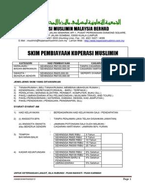 Borang Skim Baru Pdf