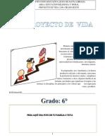 PROYECTO DE VIDA PARA SEXTO