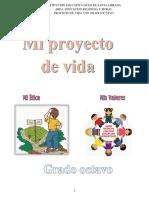 PROYECTO DE VIDA OCTAVO GRADO 8°