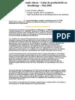 2001-05 Usinage a Grande Vitesse_gains de Productivite en Decolletage