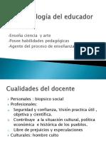 Deontología del educador