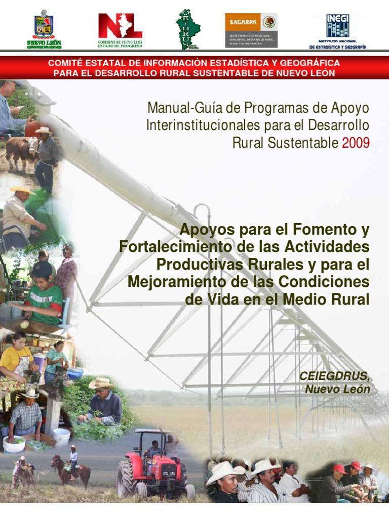 Manualdeprogramasrurales Agricultura área Rural