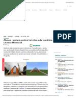 Alunos recriam pontos turísticos de Londrina usando Minecraft