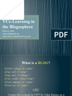 Bec Carter - FINAL VCe-Learning in the Blogosphere