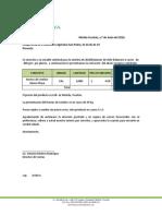 Cotización Fertilizante-Abono