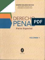 (IUSTITIA-2018) RAMIRO SALINAS SiCCHA (juez Superior Titular de Lima) - DERECHO PENAL PARTE ESPECIAL VOLUMEN 1 (PERU). I-EDITORIAL IUSTITIA S.A.C (2018).pdf