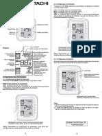 2019 HGRI-PACSC001 Rev00 Guia Rápido de Instalação Termostato T6861