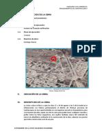 INFORME DE LA OBRA -CONSTRUCCION II