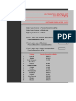 carta  psicrometrica
