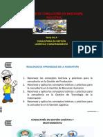 15. GESTION LOGISTICA Y DE MANTENIMIENTO