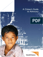 A Citizen's Guide to Advocacy