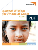 Biblical Wisdom for Financial Crisis