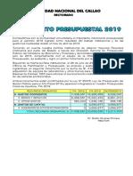 Presupuesto-2019