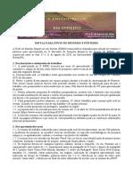 Edital para submissão de resumos e pôsteres - X Encontro de Pesquisa Empírica em Direito