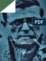 Jean Paul Sartre - Las palabras.pdf