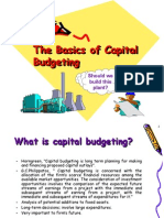 MBA II FM Capital+Budgeting