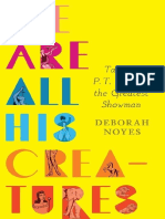 We Are All His Creatures by Deborah Noyes Chapter Sampler