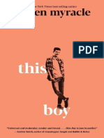 This Boy  by Lauren Myracle Chapter Sampler