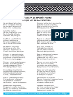 Martin Fierro y la frontera