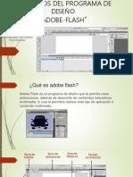 Pantalla elementos Adobe Flash