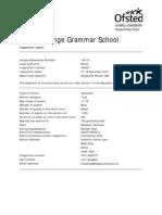 Final Calday Grange Ofsted Report Published December 2010[1]