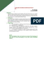 Air Brake Binding Investigation