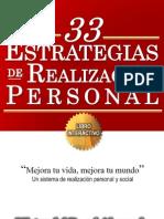 Libro 33 Estrategias de Realización Personal