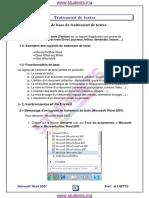 درس-Traitement-de-textes-–-المعلوميات-–-الجذع-المشترك