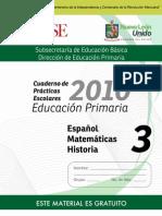 3o Cuaderno de Prácticas Escolares