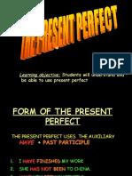 Present Perfect - Presentation