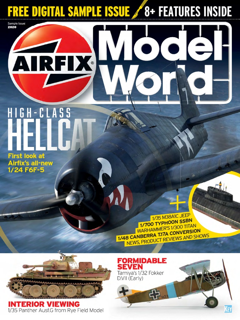 Airfix Model World Free Digital Sample Issue 2020