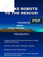 Snake Robots to the Rescue-ppt