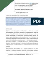 DOSSIER - Diseños de Investigación