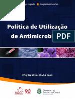 politica de utilizao de antimicrobiano 2019