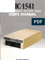 Commodore Vic 1541 Floppy Drive Users Manual