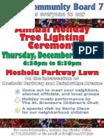 BxCB7 Tree Lighting Flyer 2010