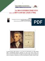 Teoria do Conhecimento em John Locke