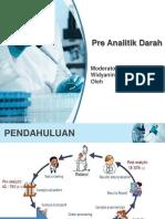 Preanalitik darah