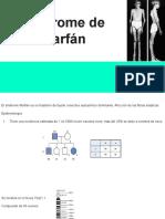 Síndrome de  Marfán
