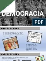 Democracia, gobernabilidad e institucionalidad